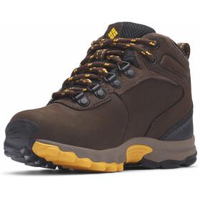 Columbia Newton Ridge Shoes Youth cordovan/golden yellow